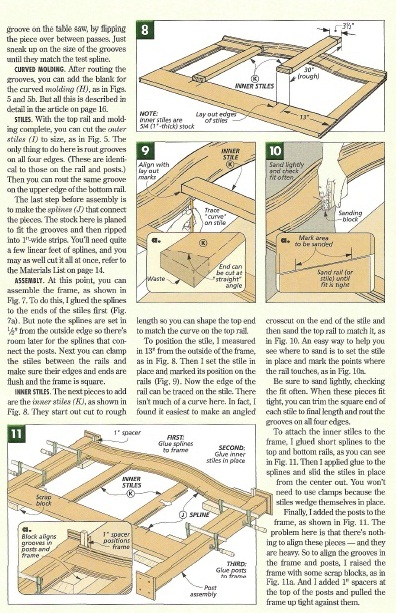 free wood furniture plans
